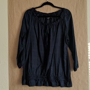 Navy Blouse [X-Large]